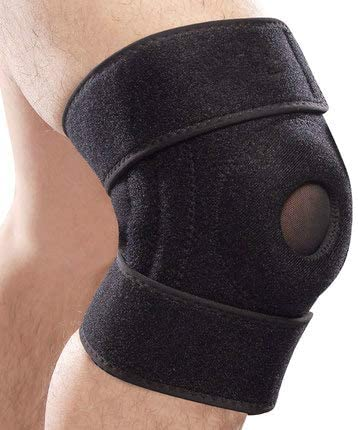 popular Mallofusa Knee Pads Support Open-Patella Knee Sleeve Brace with new arrival Adjustable Strapping & online Breathable for Arthritis Sports Fitness Mountaineering Outdoor online