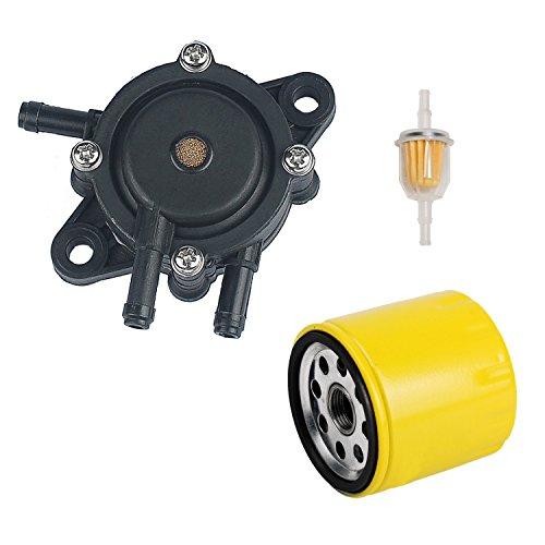 oxoxo 2439304-s Kraftstoff Pumpe Ölfilter Kraftstofffilter für KOHLER ch17-ch25cv17-cv25ch730-ch740cv730-cv74017hp-25hp Motor Rasenmäher