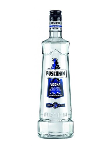 Puschkin Vodka 0,5l Wodka 37,5% vol.