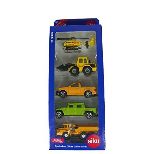 SIKU 6282, Geschenkset 3 - Rettung und Weltall, Metall/Kunststoff, Multicolor, Spielkombination, Untereinander kompatibel