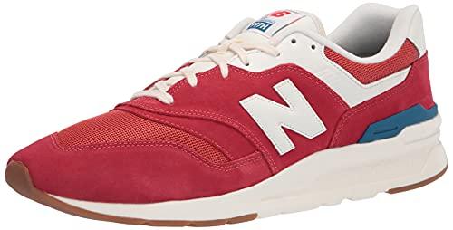 New Balance 997H V1, Zapatillas Deportivas. Hombre, Team Red Varsity Gold, 40.5 EU