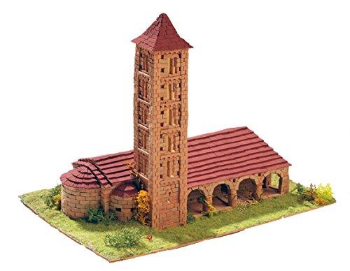 Keranova- Kit de cerámica Iglesia de Santa Eulalia, Color marrón (30106) , color/modelo surtido