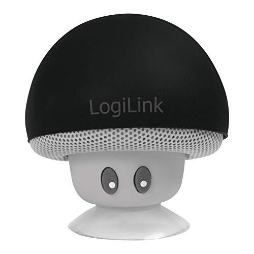 LogiLink SP0054BK - Mobile Bluetooth Lautsprecher, Design