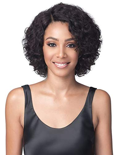 Bobbi Boss Unprocessed Virgin Remy Bundle Hair Full Lace Wig BNGLWNC12 Natural Curl 12