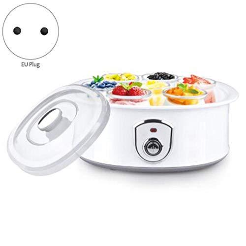 Elektrischer Joghurtbereiter mit 7 Tassen 1,5 l automatischer Universal-Edelstahlliner Natto Rice Wine Yogurt Machine