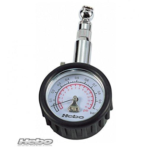 HEBO - HH8310 : Reloj manometro medidor presion neumaticos 1 Kg TRIAL/QUADS