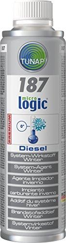 TUNAP 187 Additivo gasolio anticongelante antigelo Diesel