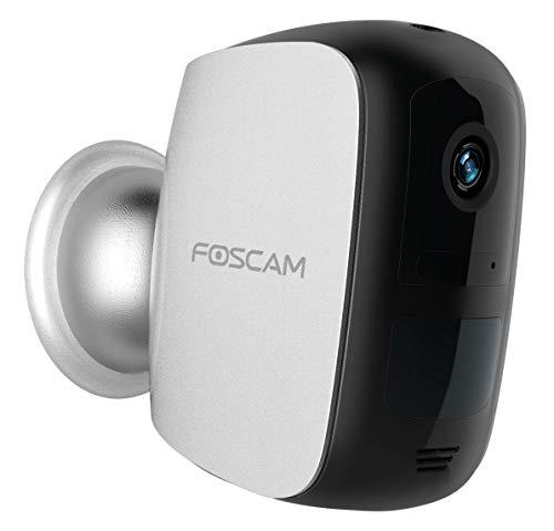 Foscam E1 - Cámara IP 100% inalámbrica Interior o Exterior con batería 1080P