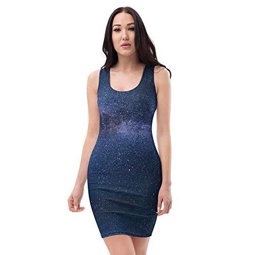 Ministry Of Trend Starsky Premium Sublimation Cut & Sew Dress - (Da'uman Range)
