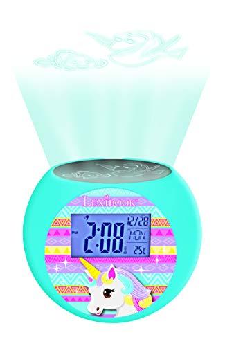 Lexibook - Despertador Digital, Rosa (Unicornio)