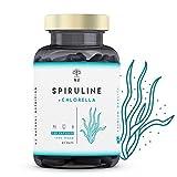 Chlorelle Spiruline Comprimés 1250mg. Puissant Antioxydant Renforce le Système...