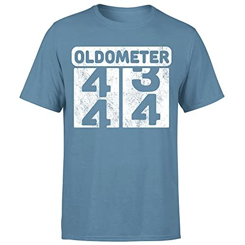 Milestone Birthday Oldometer odómetro torneando 44 años regalo para hombre camiseta regalo para él