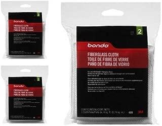 3M Bondo 499 Fiberglass Cloth (Pack of 3)