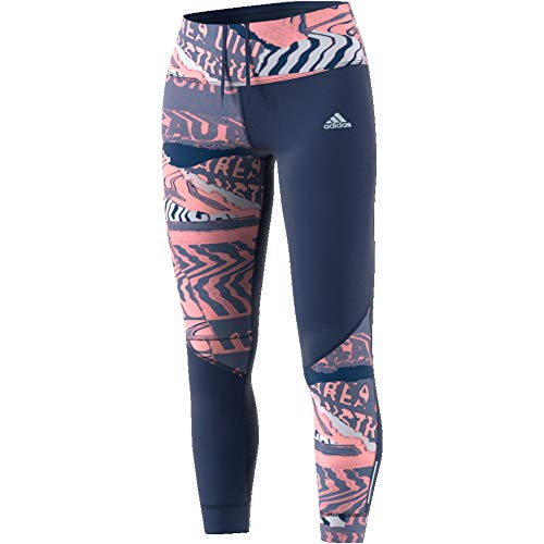 adidas Own The Run Tgt, Collant Donna, Indtec/Rosglo/Toqgri, XXS