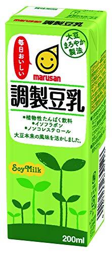 マルサン 調製豆乳 200ml×24本 紙パック