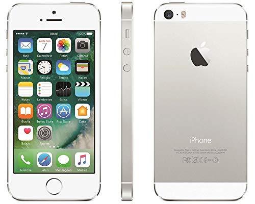 iPhone 5s Apple 16GB Prata Desbloqueado Câmera 8MP 4G e Wi-Fi