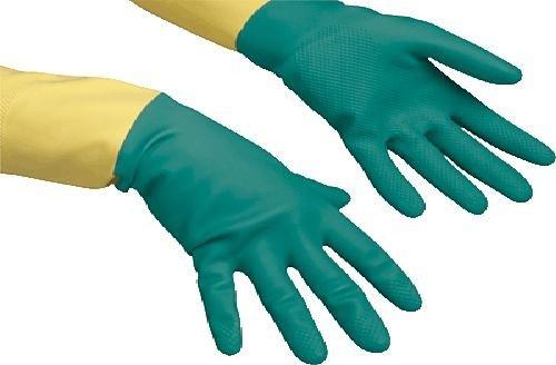 vileda 120270/120262 Handschuhe Heavyweight grün