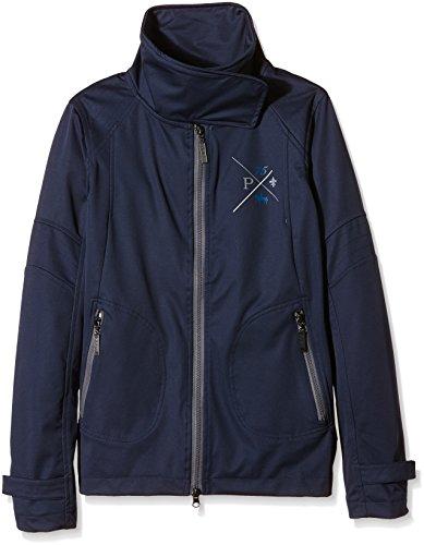 PFIFF 745135 Jacket Femme, Bleu foncé, XXL