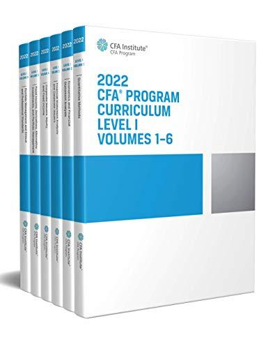 2022 CFA Program Curriculum Level I Box Set