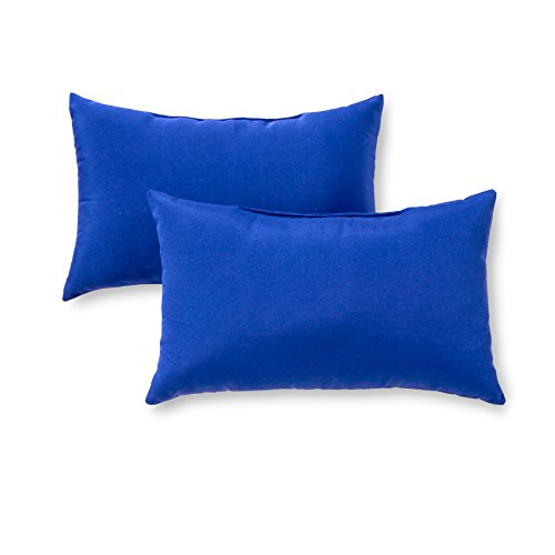 Greendale Home Fashions Rectangle Outdoor Accent Pillows, Salsa, Set of 2 - http://coolthings.us