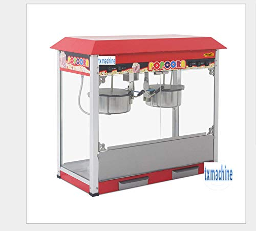 Read About TX® 16 ounces double pot popcorn machine,electric popcorn machine 16OZ/3minutes Popcorn ...