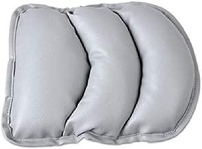 TRUE LINE Automotive Car Center Console Armrest Cushion Comfort Pillow Pad (Gray)