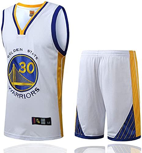 CPBY Camiseta de baloncesto para hombre y mujer, diseño retro, talla M, color blanco