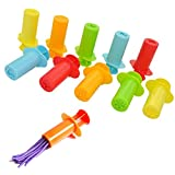 YazyCraft Clay Dough Extruders Set of 10