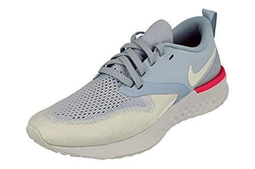 Nike Damen Odyssey React Flyknit 2 Leichtathletikschuhe, Hydrogen Blue White Pink 401, 38.5 EU