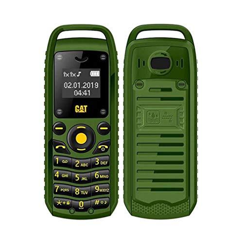 Super Mini 0,66 Pol. 2G Celular B25 Wireless BT Fone de ouvido sem fio Fone de ouvido destravado Celular SIM cartão Duplo