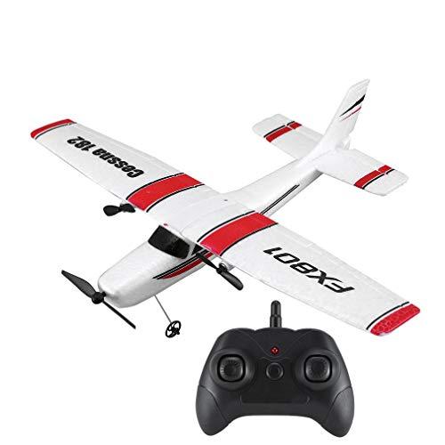 Lorenlli 2.4G 120m RC Plane Toy EPP Espuma Eléctrico Control Remoto al Aire Libre Planeador Control Remoto Avión ala Fija Aviones