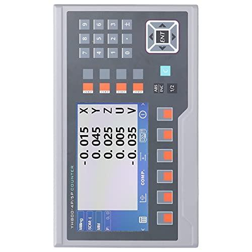SALUTUY Fresadoras LCD, Nueva Estructura Máquinas De Torno Estándar Estricto LCD para Industy para Máquinas De Torno(Default)