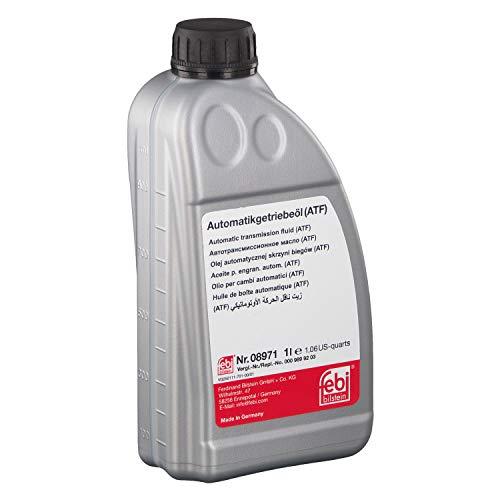 febi bilstein 08971 Automatikgetriebeöl (ATF) in automatischen Getrieben, Wandlern und Hydrolenkungen , 1 Liter