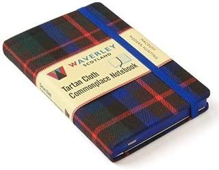 Macduff Modern Hunting: Waverley Genuine Tartan Cloth Commonplace Notebook (Waverley Scotland Tartan Cloth Commonplace Notebooks/Gift/stationery/plaid)
