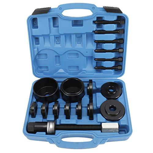 KUNTEC 19 PCS Universal Front Wheel Drive Bearing Puller Master Set Hub Removal Tool Kit