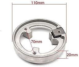 Motorcycle Drum Brake Disc Brake Conversion/tightening Ring For 110mm/130mm Rear Drum Brake 70mm Hole To Hole Brake Disc Install
