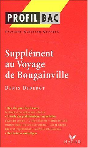 Profil d'une oeuvre : Supplément au Voyage de Bougainville, Denis Diderot
