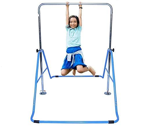 ToyKraft Kids Jungle Gymnastics Monkey Bars Climbing Tower Expandable Junior Training Bar Indoor Foldable