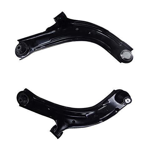 BRTEC Front Lower Control Arms with Ball Joint for 2009 2010 2011 2012 2013 2014 for Nissan Cube; 2008 2009 2010 2011 2012 for Nissan Versa Lower Control Arm with Ball Joint K620566 K620567