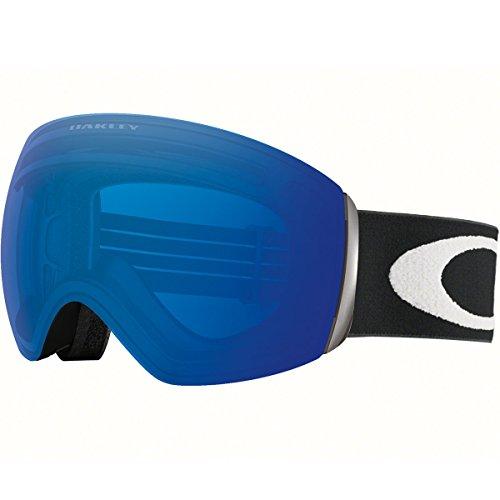 Oakley OO7050-20 Flight Deck Eyewear, Matte Black, Prizm Sapphire...