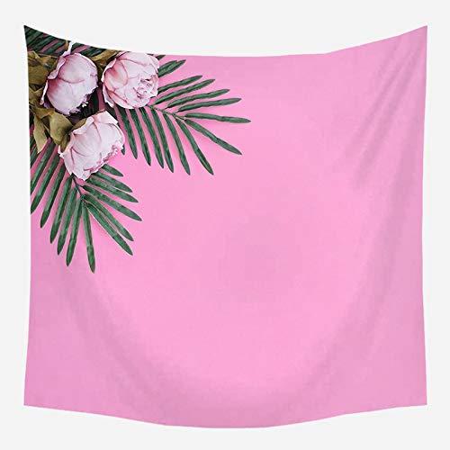 Côte rose tapisserie romantique fond chambre tête de lit astrologie couverture tenture murale toile de fond tissu A5 130x150 cm