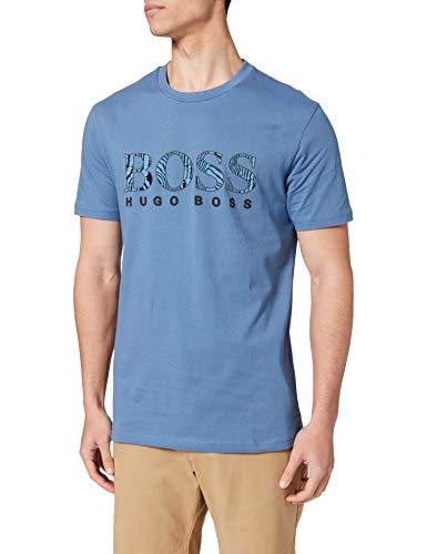 BOSS TLogo 21 10232834 01 Camiseta, Open Blue489, XXL para Hombre