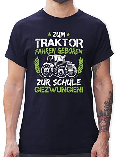 Sprüche - Zum Traktor Fahren geboren...