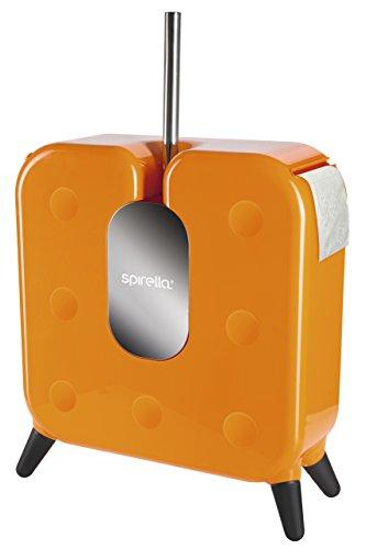 Spirella 1017832Cube Naranja Freestyler baño Accesorios, ABS, 52.5x 37x 14cm