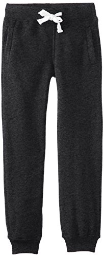 Southpole Boys' Big Active Basic Jogger Fleece Pants, Heather Charcoal, Large / 14-16
