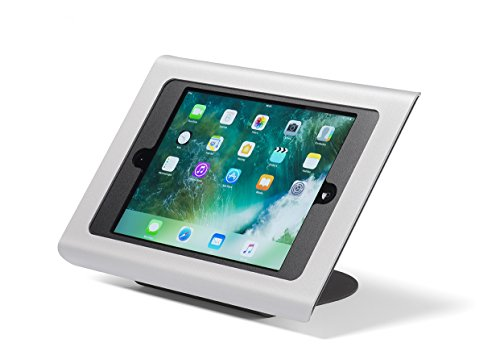 Tabdoq anti-diefstal iPad tafel standaard compatibel met iPad Air 1/2, iPad 2017 en iPad 2018 9.7-inch