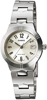 Casio Standard for Women - Analog Stainless Steel Band Watch - LTP-1241D-7A