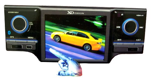 """XOVISION XO3501NAV 3.5""""Touch Screen DVD Receiver with Built-in GPS"""