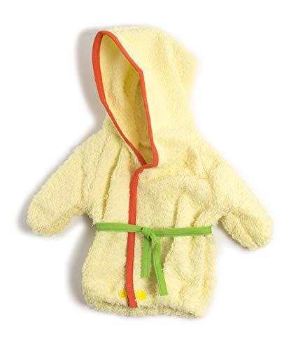 Miniland Albornoz Vestido para muñecos de 40cm, Color verde
