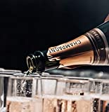 Sektgläser Plastik 50 Stück Einweg Champagnergläser 0,1l Bruchfest - Glasklar - Höhe 16cm - 8